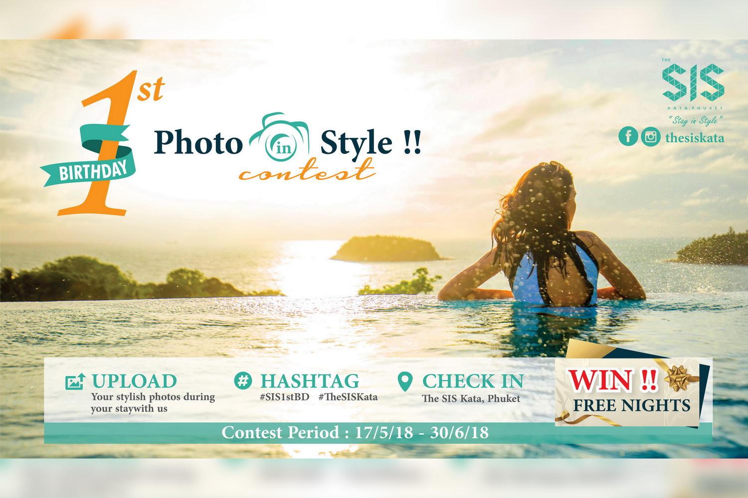 "The SIS Kata, Phuket celebrate 1st Birthday launches ""Stay in Style"" promot"
